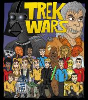 Trek Wars by Lordwormm