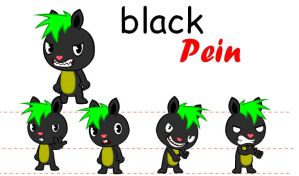 DT black pein by pein078