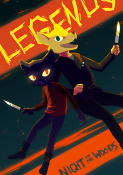 Legends by Shatterwing123
