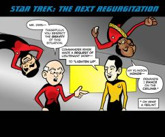 Star Trek: The Next Regurgitation by Dylanio21