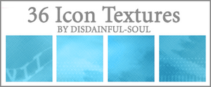 36 Blue Icon Textures by disdainful-soul