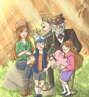 Gravity Falls by sarumanka