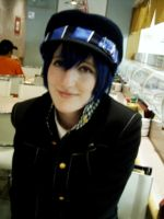 Naoto cosplay by betterDeadthanRED