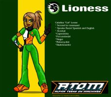 ATOM: Lioness by Indigeaux