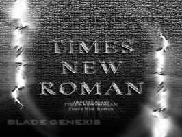 Times New Roman by Blade-Genexis