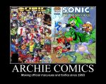 Archie Sonic Demotivational by MyMeloGal2