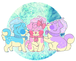 Cotton Candy Ice Cream - Sushidogs by jtoasty