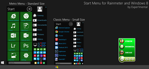 Start Menu for Windows v1.5.7 by Exper1mental