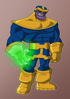 Thanos the Mad Titan by Veil1