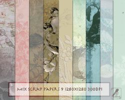 Mix scrap papers by libidules