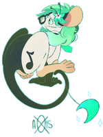 Mint_Panda by Sircaptainmouse