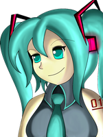 Miku color by Davidbbmync