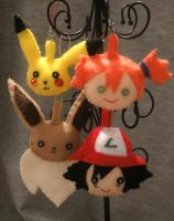 Felt Friends: Pokemon by Ryoko-and-Yami