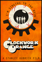 A Clockwork Orange - Alt. Minimalist Poster by edwardjmoran