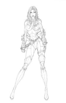 Rogue Commission pencils 1 by jamietyndall