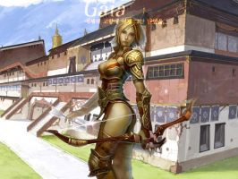 Rappelz Wall: Gaia, Female by AlfaChaos