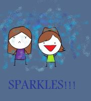 CLaire, Me and SPARKLES by kenzedie