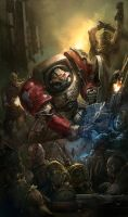Deathwatch chapter cover 2 by faroldjo