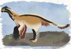 Gigantoraptor by Spikeheila