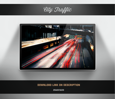 City Traffic Wallpaper by theminimalisto