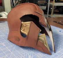 Helmet Progress - Imperius by Omegadjinn
