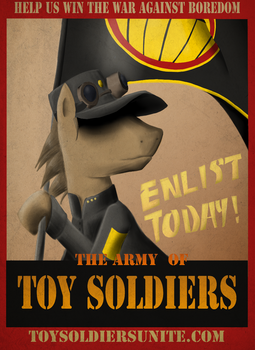 Toy Bronies Unite: Recruitment Poster by fimoman