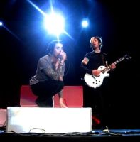 davey havok and jade puget by outsideTHEscream