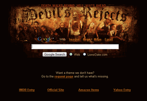 The Devil's Rejects Startpage by AwesomeStart