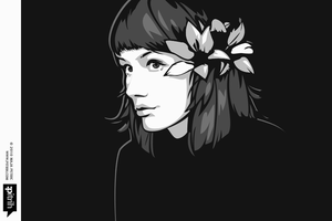 Colorless portrait by pitrih