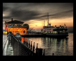 Kadikoy Quay by kivancoder