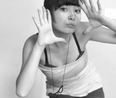 B and W 5 by RosanaPEACE