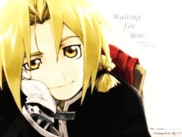 FMA Wallpaper- Waiting for You by RainbowsInside