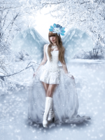 Ice Angel by Vesperity