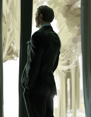 hannibal 'not a model' lecter by Floyd46
