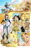 Richie Rich FCBD page 2 clr by DustinEvans