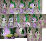 Spike plushie, 13 inch high by Rens-twin