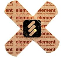 element s.o.s. sticker III by qbsster