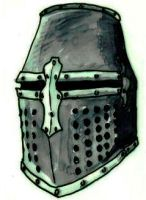 medieval helm by Kluwe