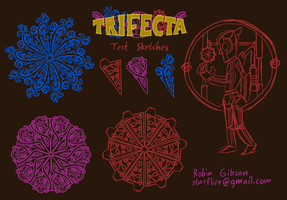 Trifecta Sketches - Rejected by Starflier