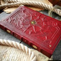 details of the Red Sun book by MilleCuirs