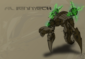 AlienMech by SanchoPancho