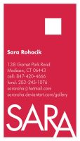 My Business Card by sararoha