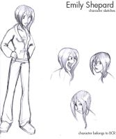 Emily Sketches by wallabri
