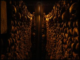 Catacombes Paris II by winona-adamon