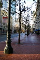 Market Street on Candlemas Morning by mirengraphics