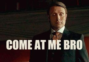 Hannibal reaction-gif by Nephilim-Phoenix