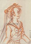Usagi in Tanemura style by MolnjaSketches