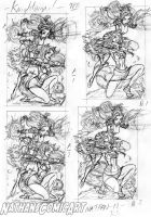 Knightingail COVER TPB LAYOUTS by nathanscomicart