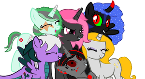 The Mean Team collab by Strawberry-T-Pony