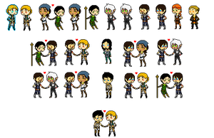 Tiny Dragon Age 2 Pixels by 1000butts